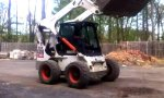 Bobcat Wheelie