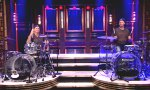 Will Ferrell und Chad Smith im Drum Off